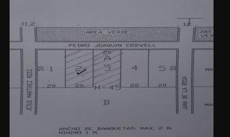 Foto de terreno habitacional en venta en pedro juaquin , colegios, benito juárez, quintana roo, 18307215 No. 01