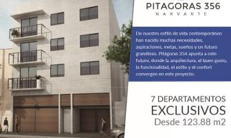 Foto de departamento en venta en pitágoras 356, narvarte poniente, benito juárez, distrito federal, 0 No. 01