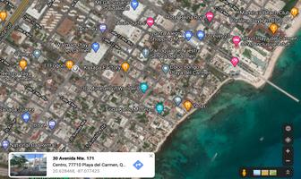 Foto de terreno habitacional en venta en playa del carmen centro , playa del carmen centro, solidaridad, quintana roo, 16639761 No. 01