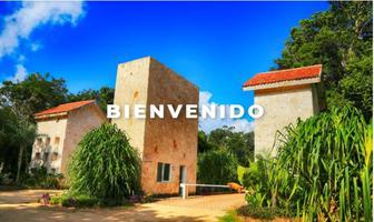 Foto de terreno habitacional en venta en privada kitam che´ , ciudad chemuyil, tulum, quintana roo, 15887036 No. 01