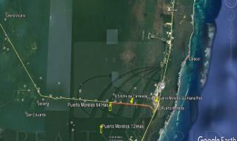 Foto de terreno habitacional en venta en  , puerto morelos, benito juárez, quintana roo, 6692348 No. 01