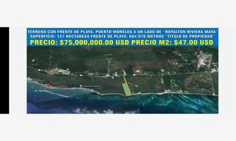 Foto de terreno habitacional en venta en puerto morelos , puerto morelos, puerto morelos, quintana roo, 0 No. 01