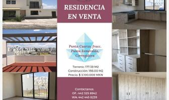 Foto de casa en venta en punta cuarzo residencial , corregidora, querétaro, querétaro, 11517199 No. 01