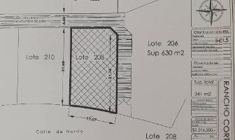 Foto de terreno habitacional en venta en  , rancho cortes, cuernavaca, morelos, 12048779 No. 01