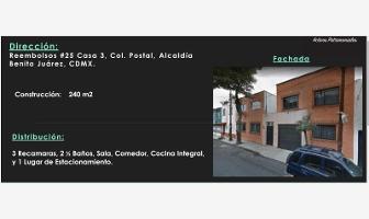 Foto de casa en venta en reembolsos 25, postal, benito juárez, df / cdmx, 7197741 No. 01