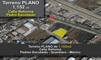 Foto de terreno comercial en venta en reforma , pedro escobedo centro, pedro escobedo, querétaro, 14507226 No. 01
