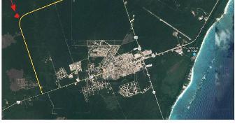 Foto de terreno habitacional en venta en region 10 , ejido, tulum, quintana roo, 0 No. 01