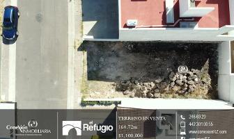 Foto de terreno habitacional en venta en  , residencial el refugio, querétaro, querétaro, 13822072 No. 01