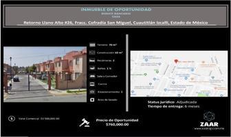 Foto de casa en venta en retorno llano alto 26, cofradía de san miguel, cuautitlán izcalli, méxico, 0 No. 01