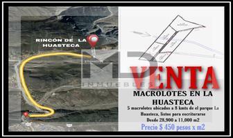 Foto de terreno habitacional en venta en  , rincón de la huasteca, santa catarina, nuevo león, 18447393 No. 01