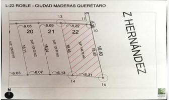 Foto de terreno habitacional en venta en roble 001, parque industrial el marqués, el marqués, querétaro, 0 No. 01