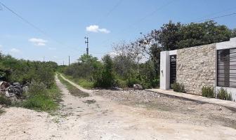Foto de terreno habitacional en venta en  , san francisco de asís, conkal, yucatán, 11421322 No. 01