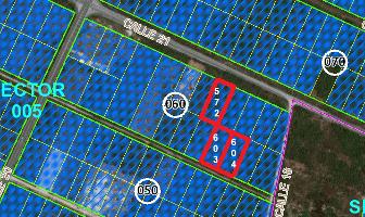 Foto de terreno habitacional en venta en  , san francisco de asís, conkal, yucatán, 13852865 No. 01