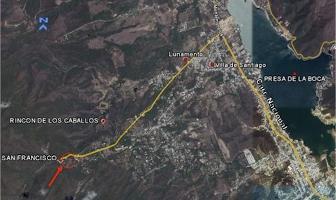 Foto de terreno habitacional en venta en  , san francisco, santiago, nuevo león, 5320702 No. 01