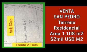 Foto de terreno habitacional en venta en  , san pedro garza garcia centro, san pedro garza garcía, nuevo león, 18447999 No. 01