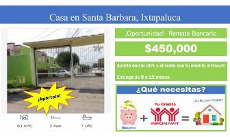 Foto de casa en venta en  , santa bárbara, ixtapaluca, méxico, 11939545 No. 01
