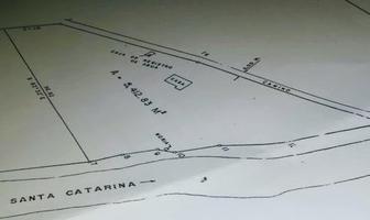 Foto de terreno habitacional en venta en  , santa catarina centro, santa catarina, nuevo león, 14567133 No. 01