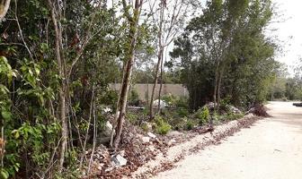 Foto de terreno habitacional en venta en saturno , alfredo v bonfil, benito juárez, quintana roo, 0 No. 01