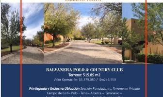 Foto de terreno habitacional en venta en seccion fundadores , balvanera polo y country club, corregidora, querétaro, 0 No. 01