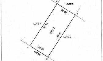 Foto de terreno habitacional en venta en  , sierra papacal, mérida, yucatán, 3515857 No. 01