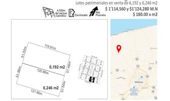 Foto de terreno habitacional en venta en sierra papacal , sierra papacal, mérida, yucatán, 0 No. 01