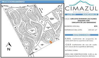 Foto de terreno habitacional en venta en  , simón diaz, san luis potosí, san luis potosí, 19732470 No. 01