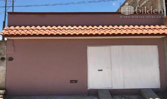 Foto de casa en venta en sin nombre 1, constituyentes, durango, durango, 6138788 No. 01