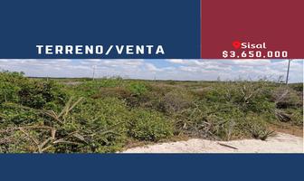 Foto de terreno habitacional en venta en  , sisal, hunucmá, yucatán, 0 No. 01
