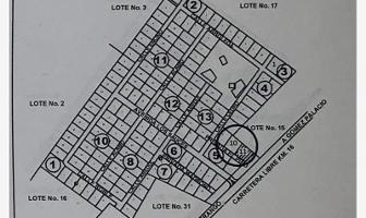 Foto de terreno habitacional en venta en s/n , fraccionamiento las quebradas, durango, durango, 12537706 No. 01