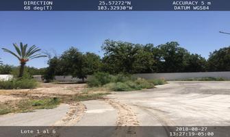 Foto de terreno habitacional en venta en s/n , san armando, torreón, coahuila de zaragoza, 16050628 No. 01