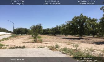 Foto de terreno habitacional en venta en s/n , san armando, torreón, coahuila de zaragoza, 18189036 No. 01