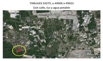 Foto de terreno habitacional en venta en tablaje 24275 , dzitya, mérida, yucatán, 0 No. 01