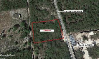 Foto de terreno habitacional en venta en  , tamanché, mérida, yucatán, 12175032 No. 01