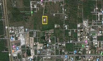 Foto de terreno habitacional en venta en  , temozon norte, mérida, yucatán, 6961063 No. 01