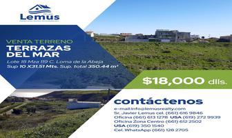 Foto de terreno habitacional en venta en  , terrazas del mar, playas de rosarito, baja california, 11762531 No. 01