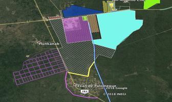 Foto de terreno industrial en venta en texan de palomeque, hunucmá yucatán , texan palomeque, hunucmá, yucatán, 7507387 No. 01