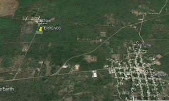 Foto de terreno habitacional en venta en  , tixpehual, tixpéhual, yucatán, 6556540 No. 01