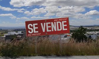 Foto de terreno habitacional en venta en urales , loma juriquilla, querétaro, querétaro, 14366289 No. 01