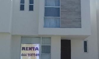Foto de casa en renta en  , villa de pozos, san luis potosí, san luis potosí, 4633808 No. 01
