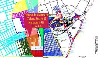 Foto de terreno habitacional en venta en  , villas tulum, tulum, quintana roo, 11771681 No. 01