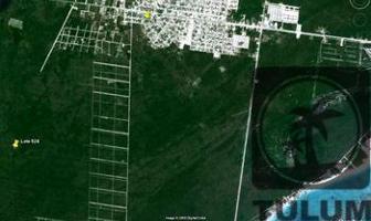 Foto de terreno habitacional en venta en  , villas tulum, tulum, quintana roo, 11815780 No. 01