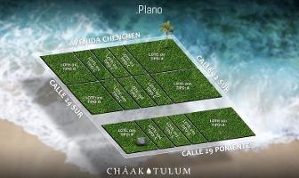 Foto de terreno habitacional en venta en  , villas tulum, tulum, quintana roo, 11856958 No. 01