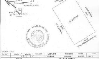 Foto de terreno habitacional en venta en  , yaxkukul, yaxkukul, yucatán, 14162599 No. 01
