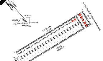 Foto de terreno habitacional en venta en  , yaxkukul, yaxkukul, yucatán, 7770591 No. 01