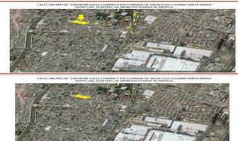 Foto de terreno habitacional en venta en zacatecas , santa maría tulpetlac, ecatepec de morelos, méxico, 17467573 No. 01