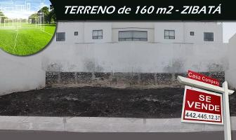 Foto de terreno habitacional en venta en zibata , desarrollo habitacional zibata, el marqués, querétaro, 0 No. 01