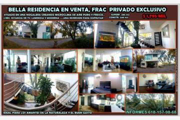 Foto de casa en venta en  1, residencia santa clara, durango, durango, 2864175 No. 01