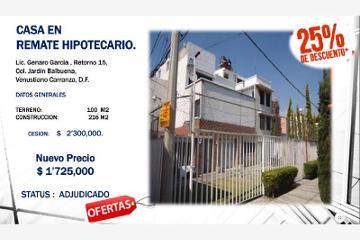Foto de casa en venta en  1, jardín balbuena, venustiano carranza, distrito federal, 2796407 No. 01