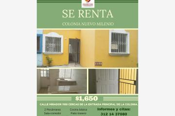 Foto de casa en renta en  1100, nuevo milenio, colima, colima, 2753318 No. 01