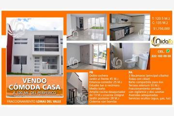 Foto de casa en venta en  19, lomas del valle, puebla, puebla, 2551204 No. 01